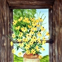 Black-eyed Susan Window